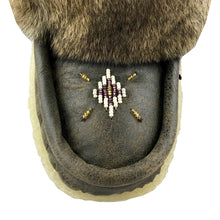 "Women's 13"" Old Brown Leather Mukluks"