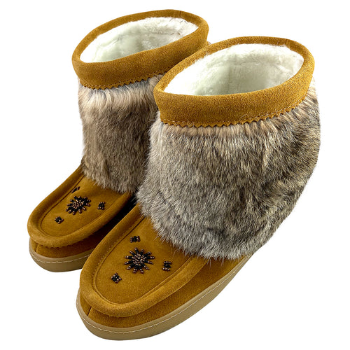 Women's Clearance Rabbit Fur Mukluks