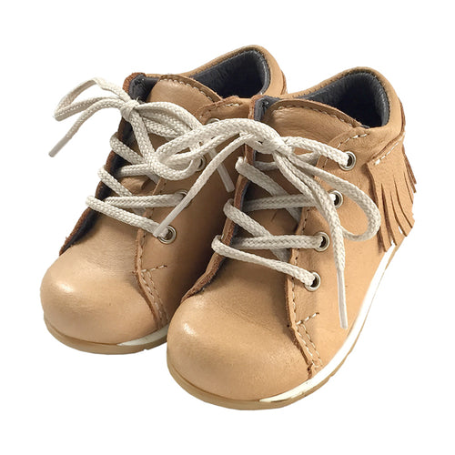 Baby FINAL CLEARANCE Moose Hide Leather Moccasin Shoes (SIZE 2, 3, 4 & 5 LEFT)