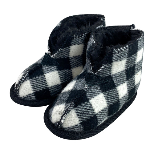 Baby & Children's FINAL SALE Plaid Bootie Slippers