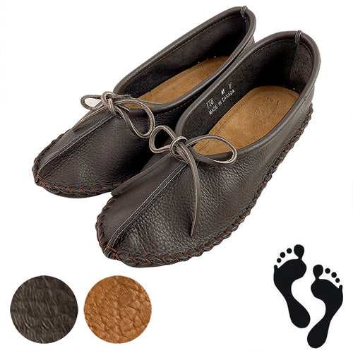 Men's SALE Buffalo Hide Minimalist Moccasins