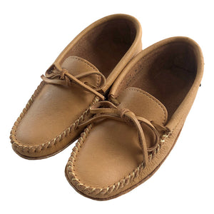 Men's Moose Hide Earthing Moccasins