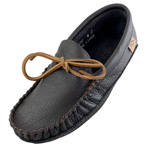 Men's Buffalo Hide Earthing Moccasins
