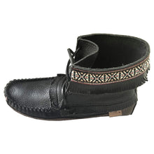 Men's Earthing Moose Hide Leather Moccasin Boots