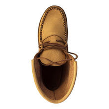 Men's Moose Hide Earthing Moccasin Boots with Heavy Oil Tan Soles