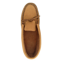 Men's Moose Hide Earthing Moccasins with Heavy Oil Tan Soles