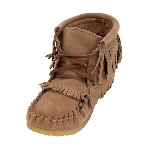 Junior CLEARANCE Mocka Suede Moccasin Boots (Only Available in size 12)