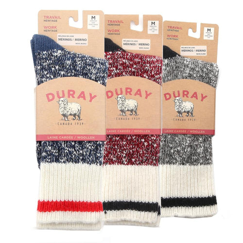 Men's Wool Work Socks 3 Pack