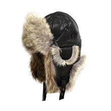 Coyote Fur Aviator Hat