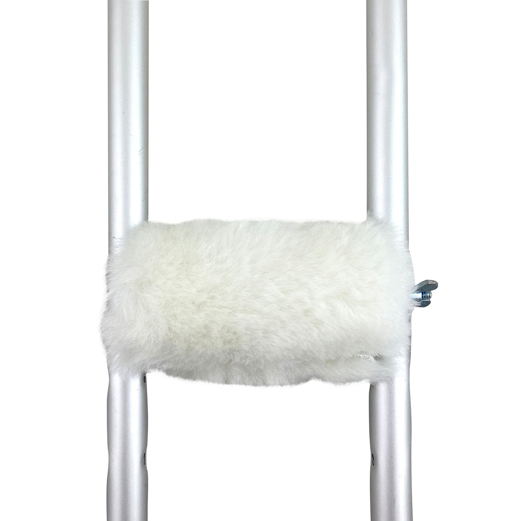 Sheepskin Crutch Handle Cover