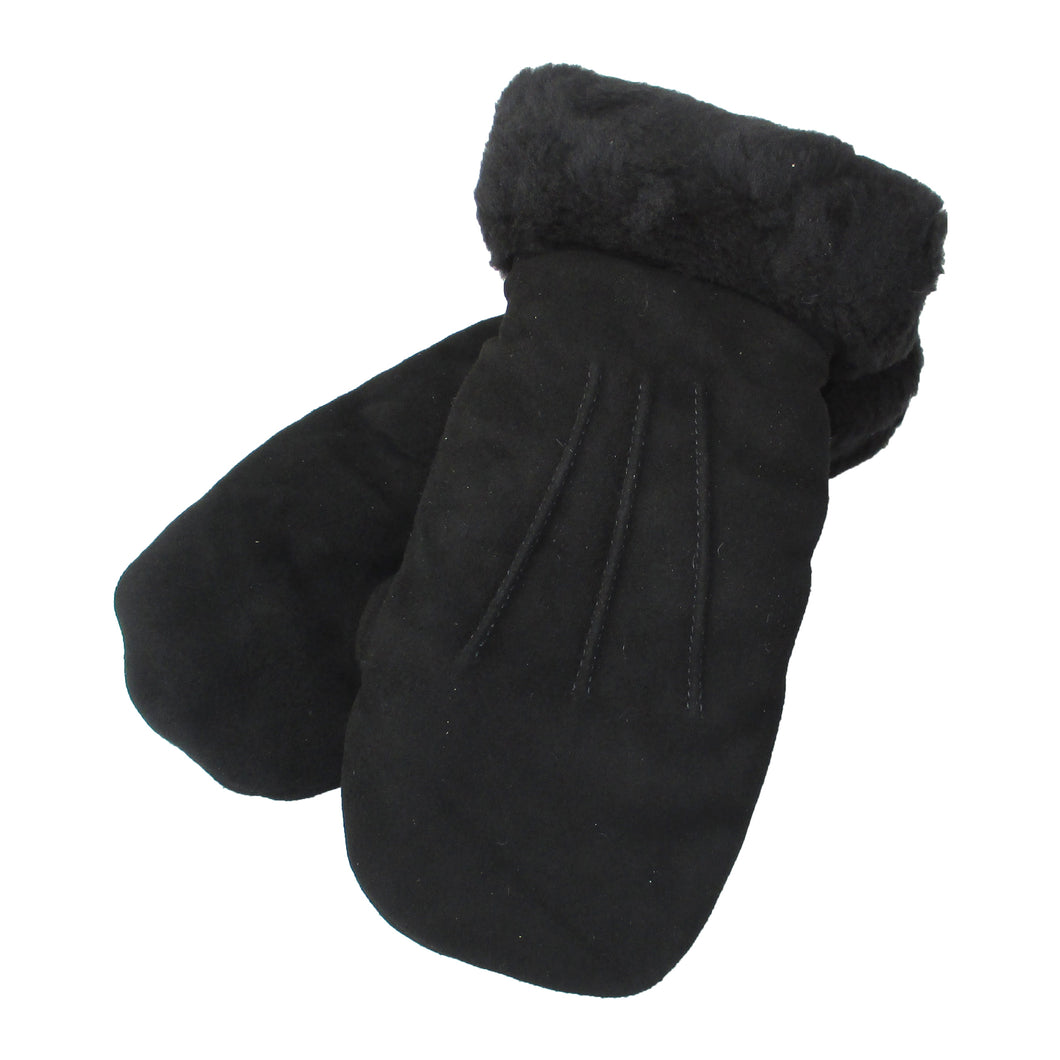 Women's Suede Mittens - Only Small and Large Available