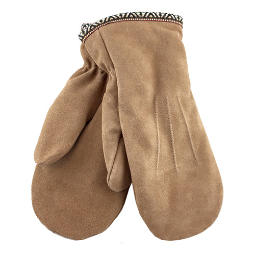 FINAL SALE Suede Mittens