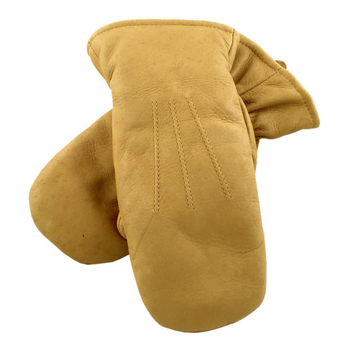 Women's Cork Leather Mittens (Size L, XL ONLY)
