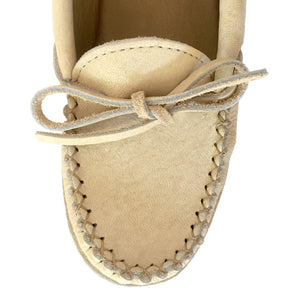 Women's Caribou Leather Moccasins