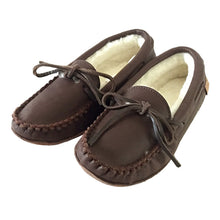 Women's Sheepskin Lined Moccasins