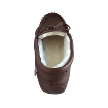 Men's Sheepskin Lined Moccasins