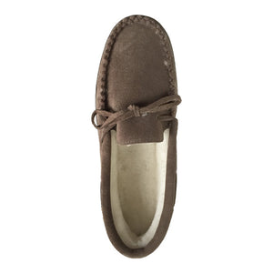 Men's Sheepskin Lined Moccasin Shoes
