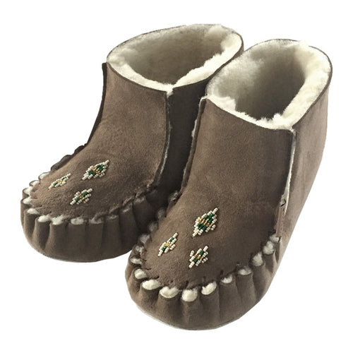 Women's FINAL CLEARANCE Sheepskin Ankle Slippers (SIZE 5 ONLY)