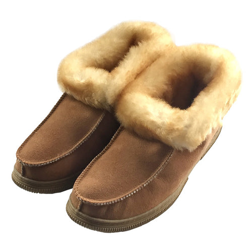 Women's Sheepskin Deck Slippers