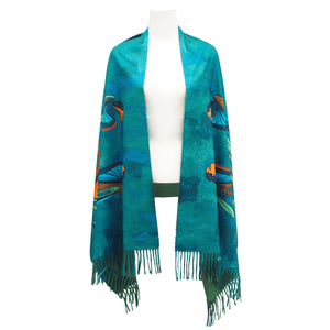 Maxine Noel Friends Art Print Shawl