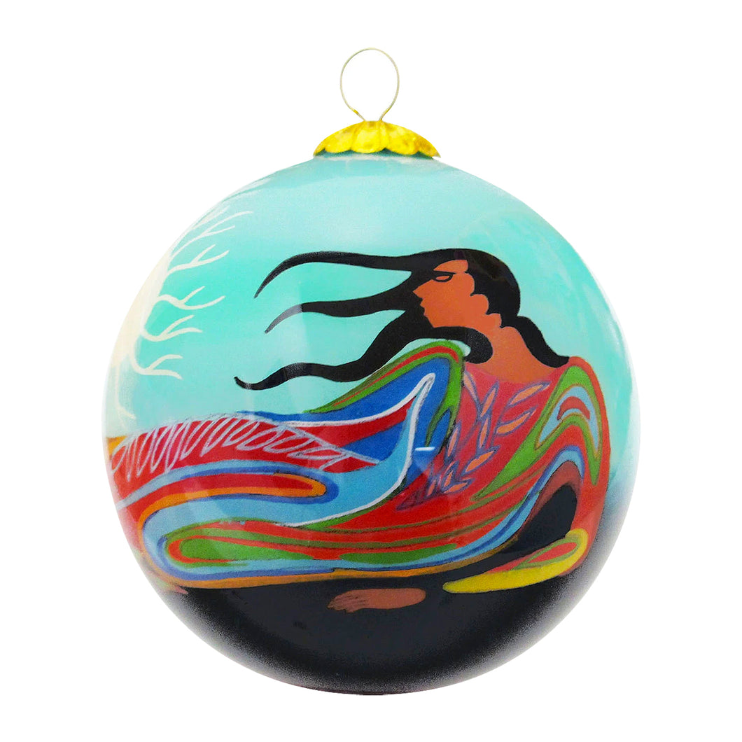 Maxine Noel Glass Ornament