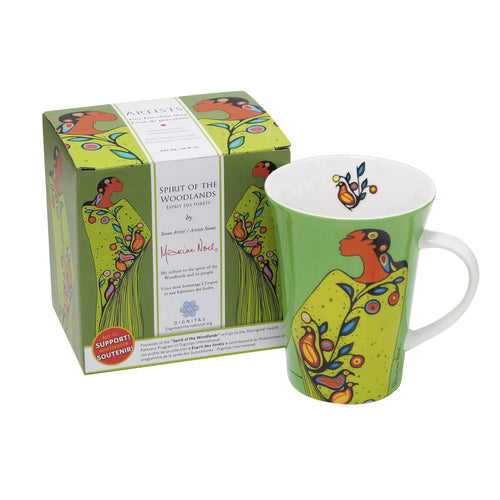 Maxine Noel Spirit of the Woodlands Porcelain Mug