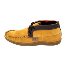 Men's Fleece Lined Ankle Moccasin Boots