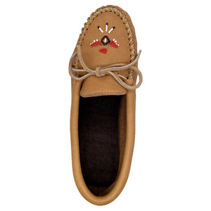 Men's Moose Hide Beaded Moccasin Shoes
