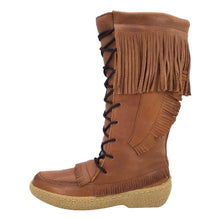 "Men's 15"" Snowshoe Peanut Brown Mukluk Moccasin Boots"