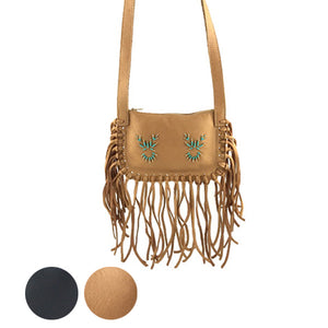 Fringed Purse