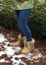 "Women's 8"" Rabbit Fur Mukluks"