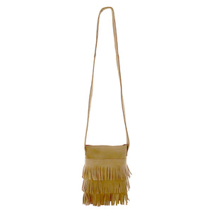 Fringed Shoulder Purse