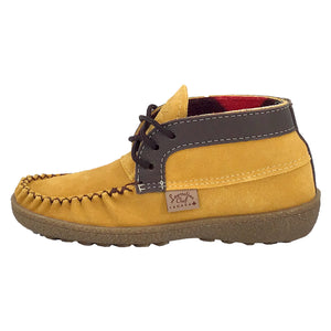 Women's Fleece Lined Ankle Moccasin Boots