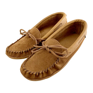 Women's Suede Leather Sole Moccasins