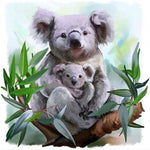 Diamond Painting Koala Cartoon - Hobby-4U