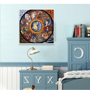 Diamond Painting Sterrenbeeld Cartoon - Hobby-4U