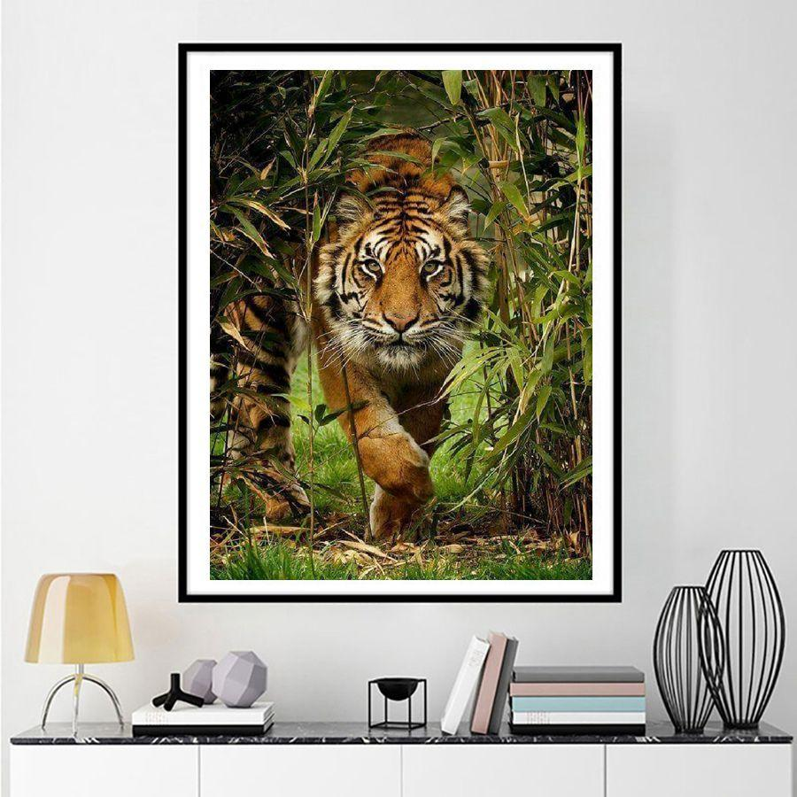 Diamond Painting Tijger - Hobby-4U