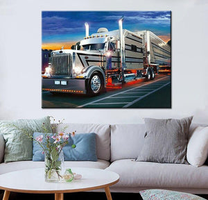 Diamond Painting Truck - Hobby-4U