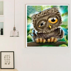 Diamond Painting Uil Cartoon - Hobby-4U