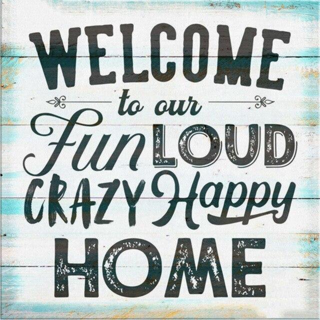 Letterbord Welcome - Hobby-4U