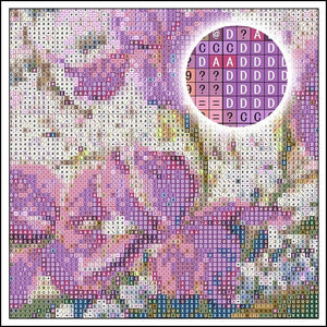 Diamond Painting Letterbord Welcome