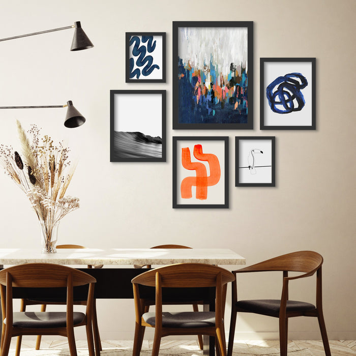 Gallery Wall Assembly Guide - Four Featured Styles
