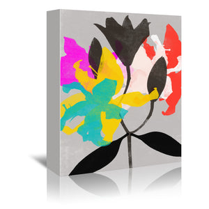 Lily 4 by Garima Dhawan Wrapped Canvas