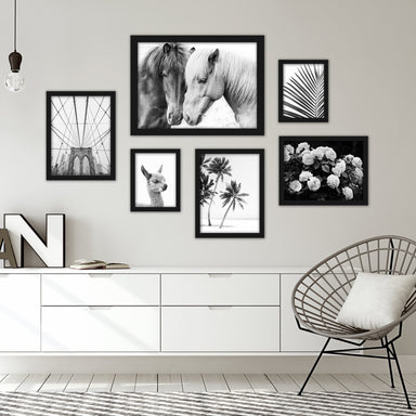Black & White Photography Framed Gallery Wall Set-2 - Art Set - Americanflat