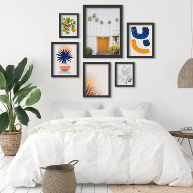 Palm Springs - 6 Piece Framed Gallery Wall Set - Art Set - Americanflat