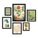Weekend In Mojave - 6 Piece Framed Gallery Wall Set - Art Set - Americanflat