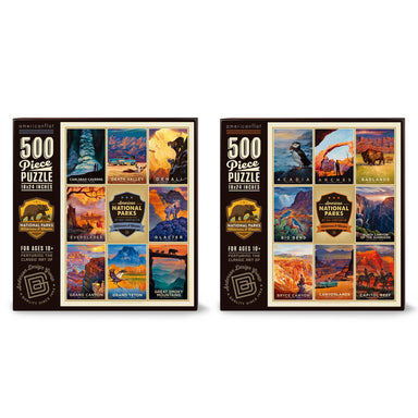 National Parks Puzzle Bundle: Set of 2 Jigsaw Puzzles - Bundle - Americanflat