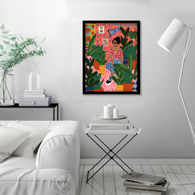 Thats My Room by Studio Grand-Pere Black Framed Print - Framed Print - Americanflat
