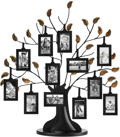 Bronze Family Tree with 6 or 12 Hanging Picture - Frame - Americanflat
