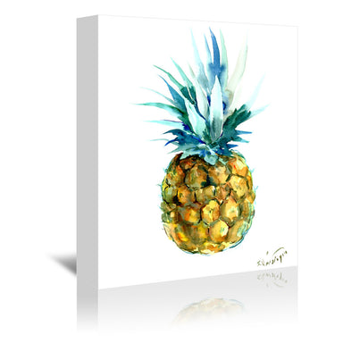 Pineapple by Suren Nersisyan Art Wrapped Canvas - Wrapped Canvas - Americanflat